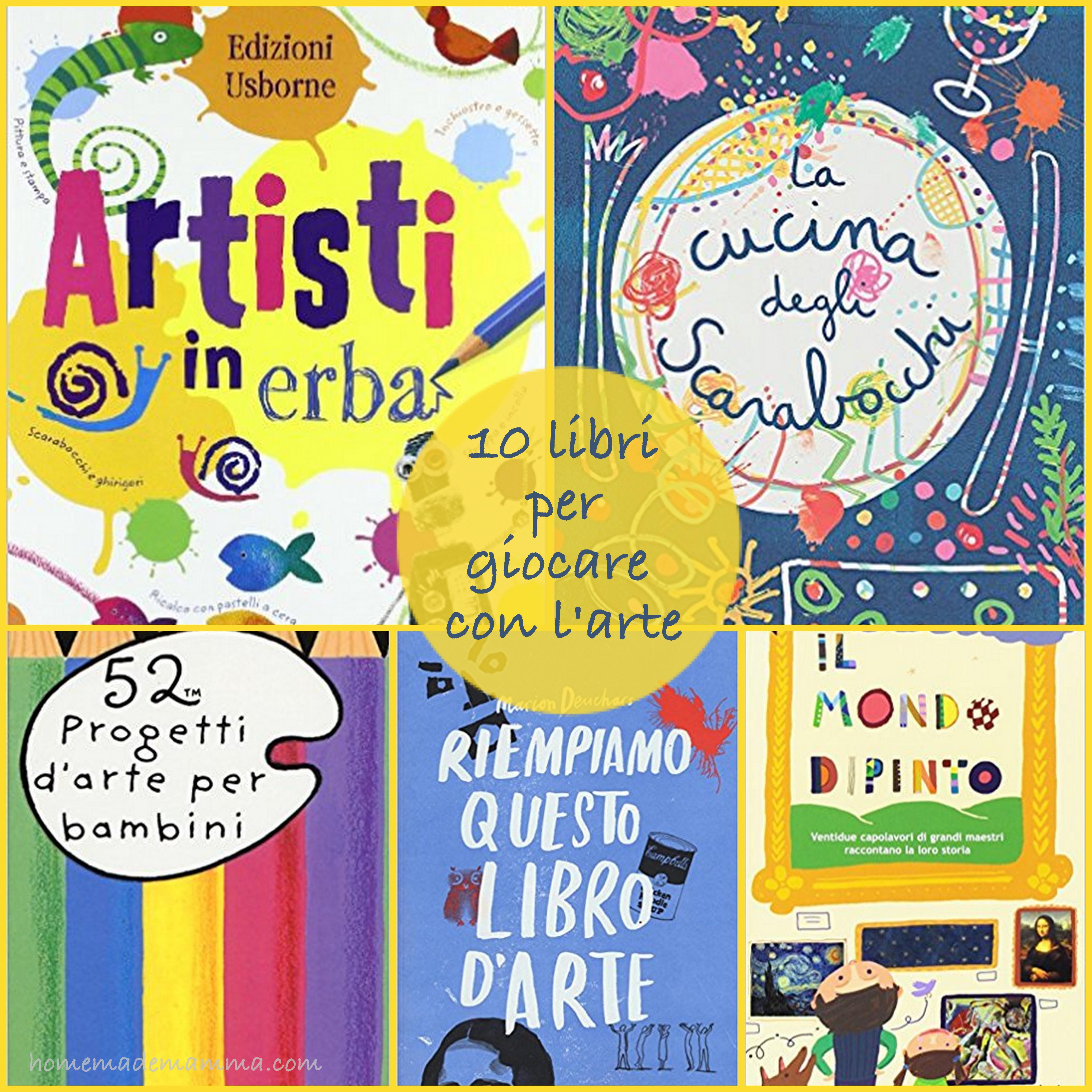 10 libri arte bambini