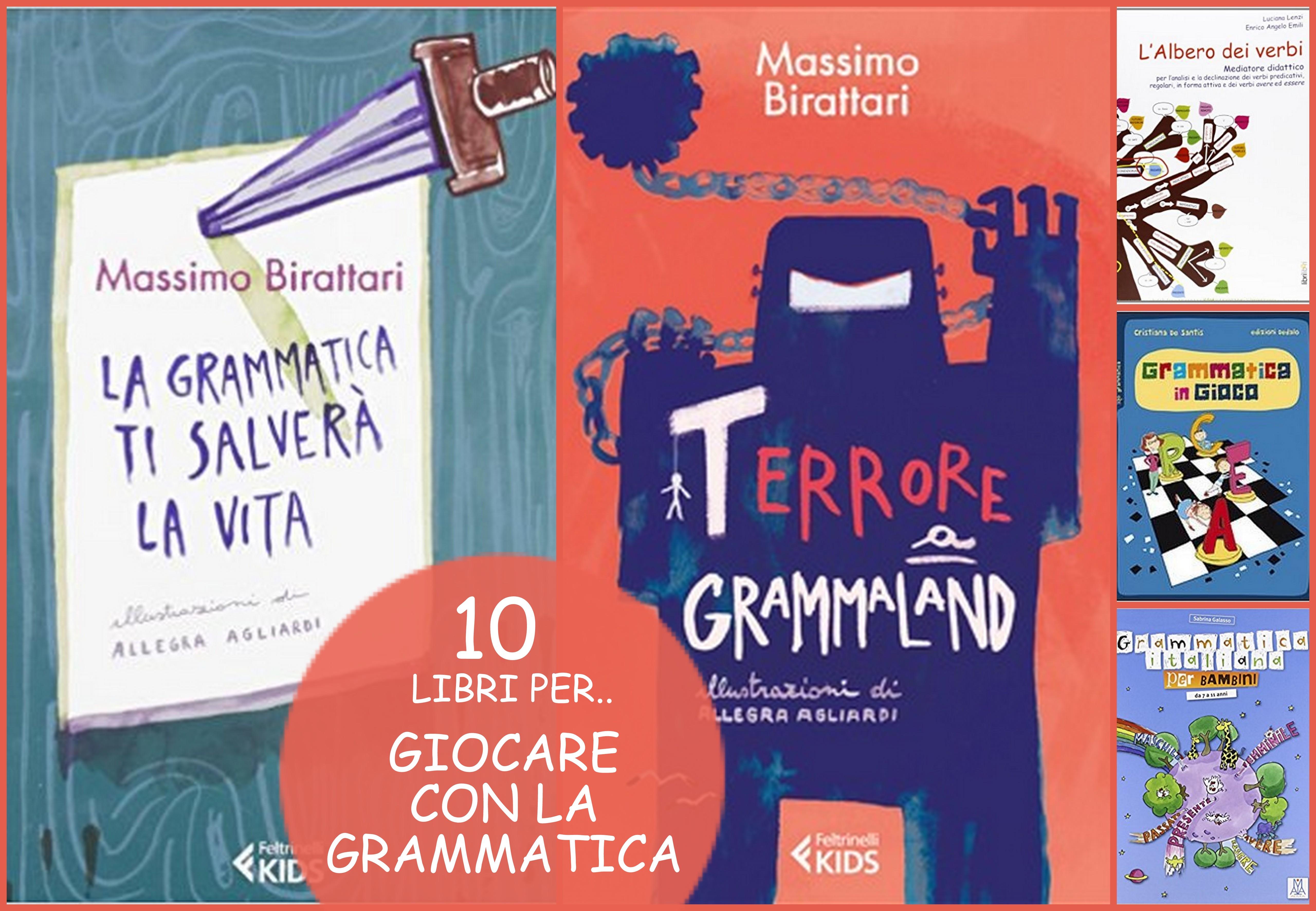 10 libri per grammatica divertente bambini
