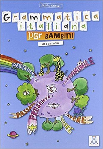 grammatica italiana per bambini libro divertente