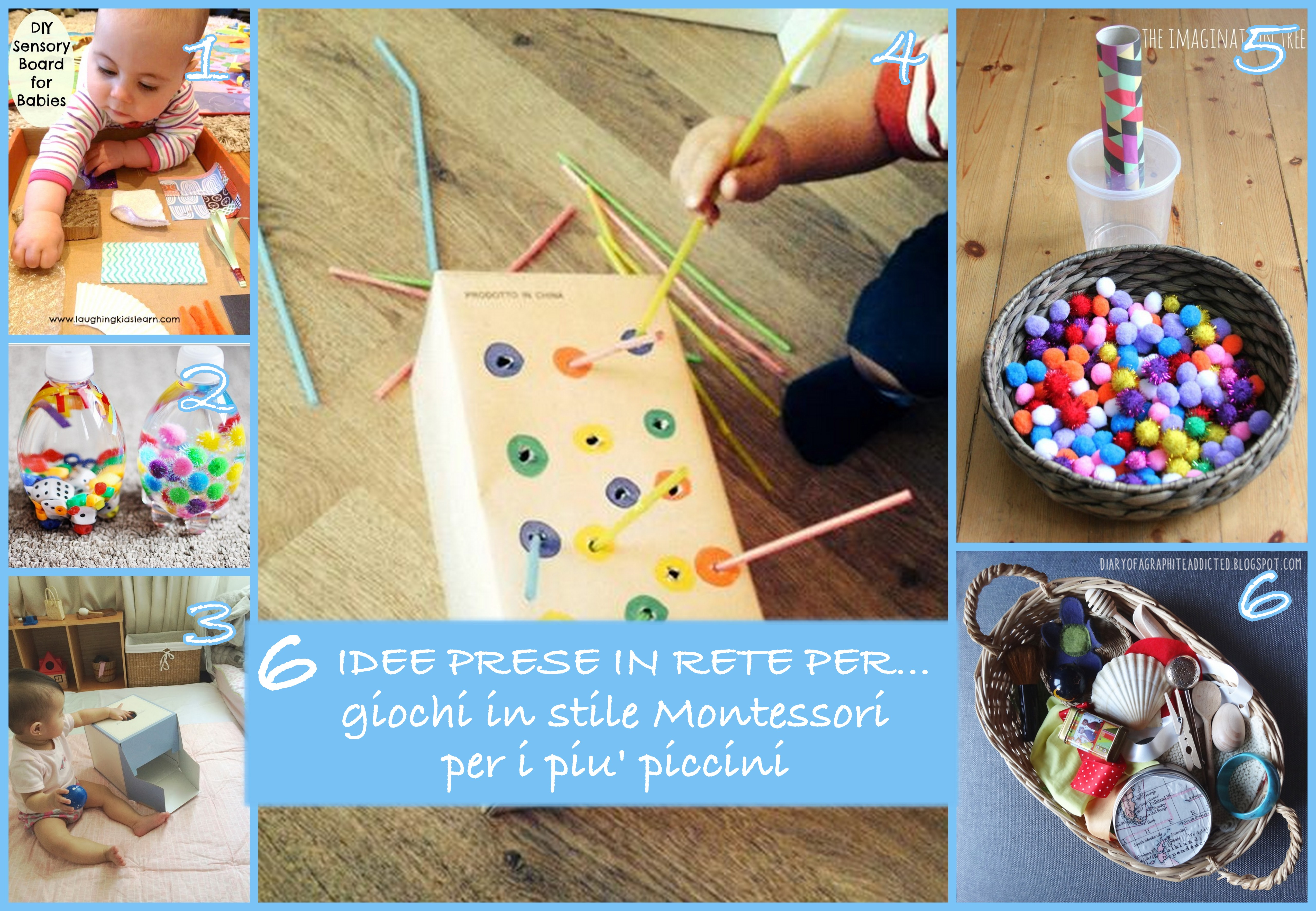 idee giochi montessori fai da te 12 24 mesi