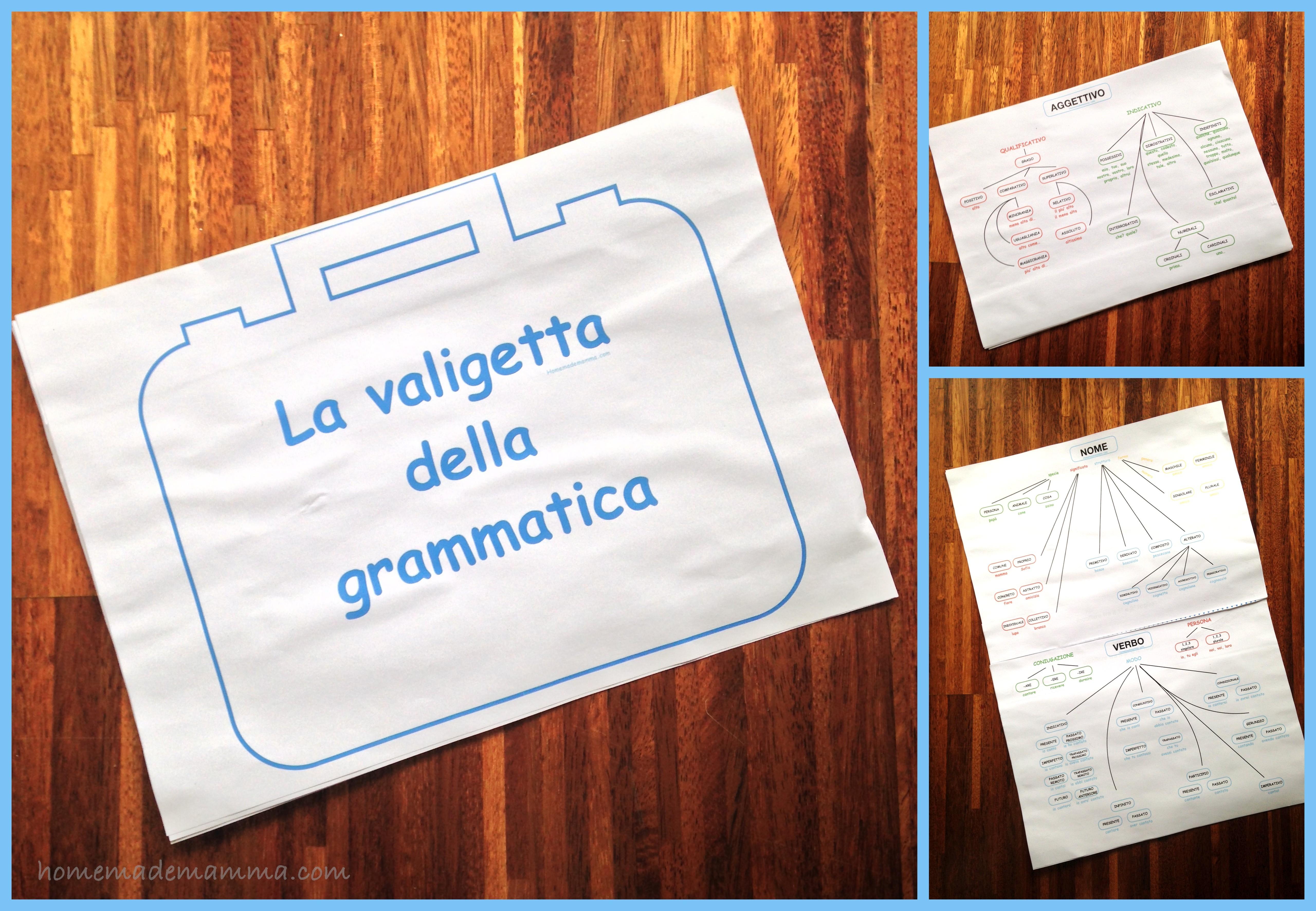 la valigetta della grammatica