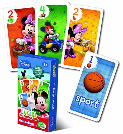 carte gioco topolino