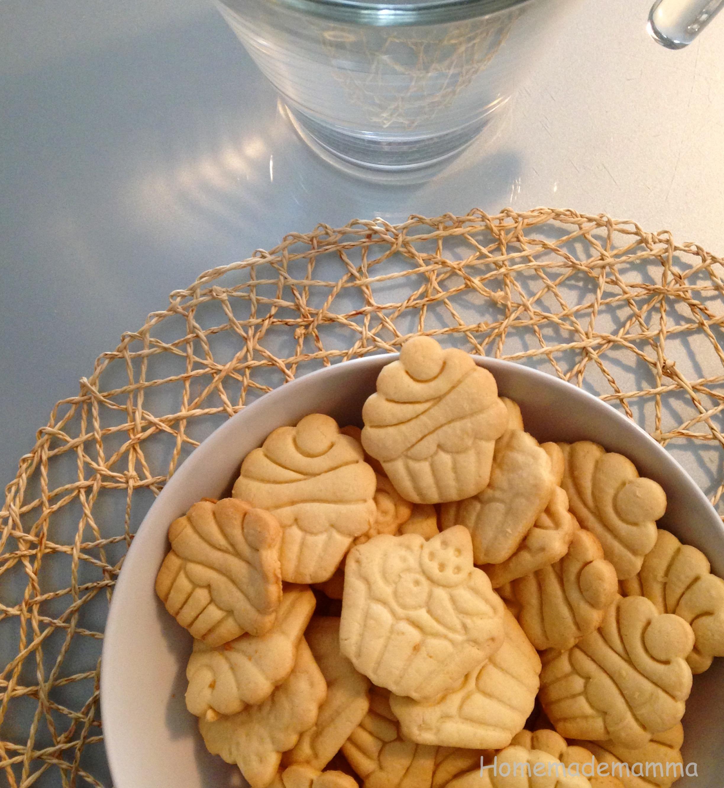 biscotti pasta frolla senza burro