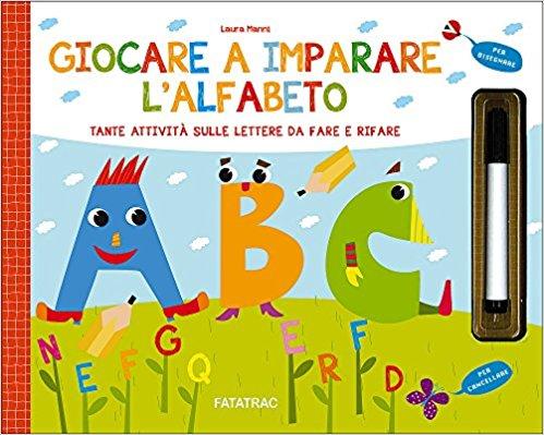 giocare e imparare l'alfabeto