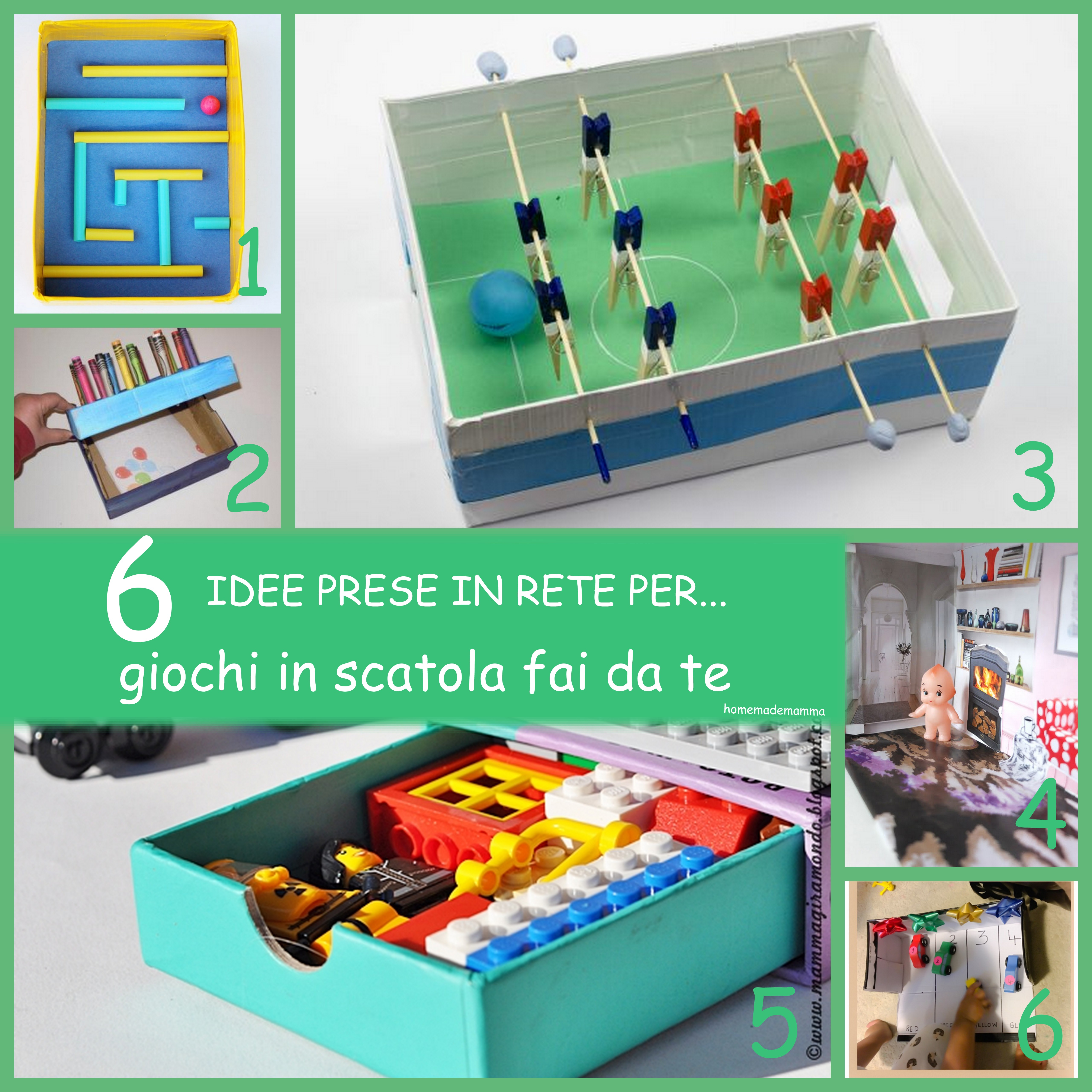 Idee Garage Fai Da Te 6 idee prese in rete per… giochi in scatola fai da te