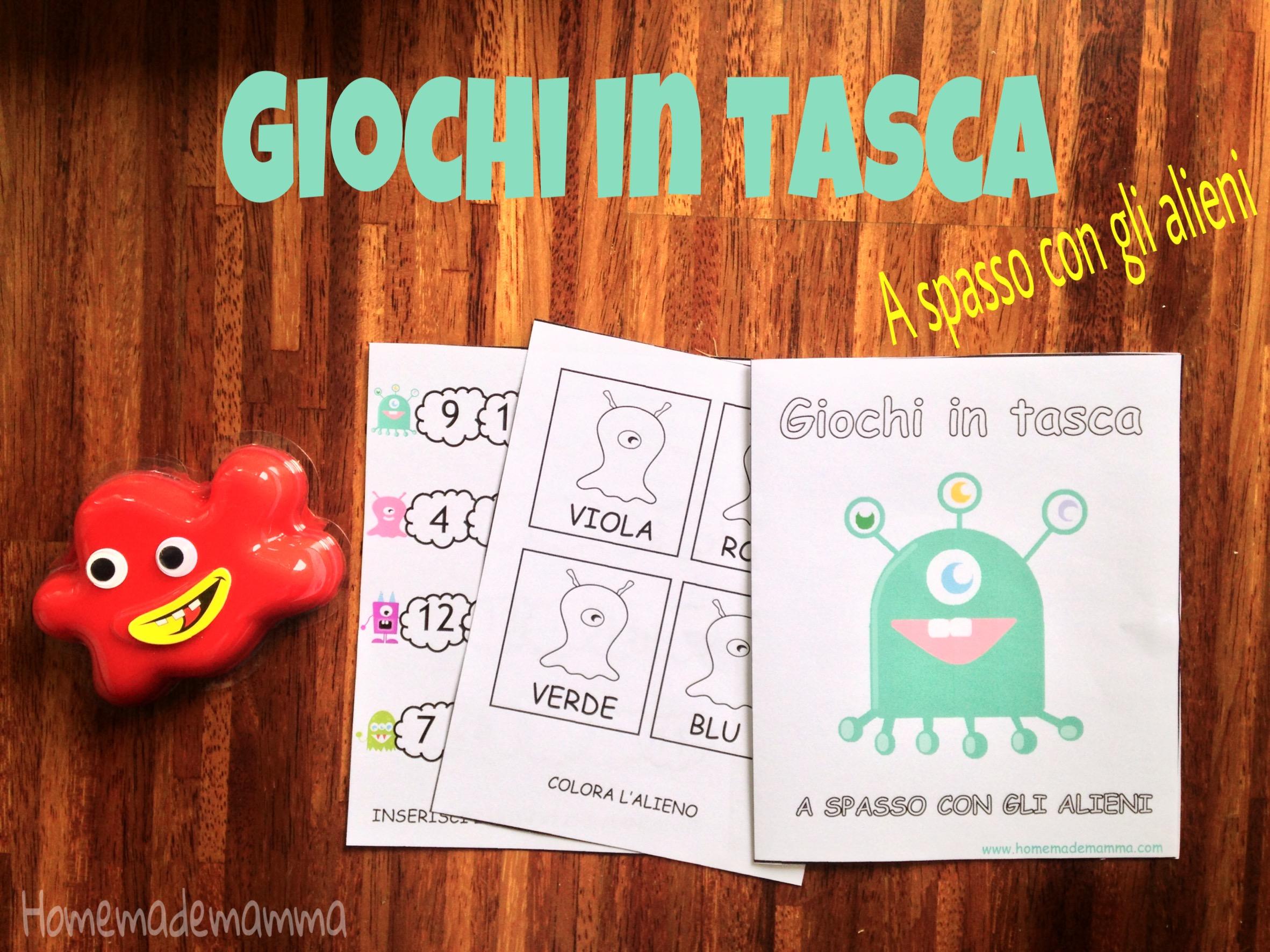 libretto gioco italiano matematica da stampare