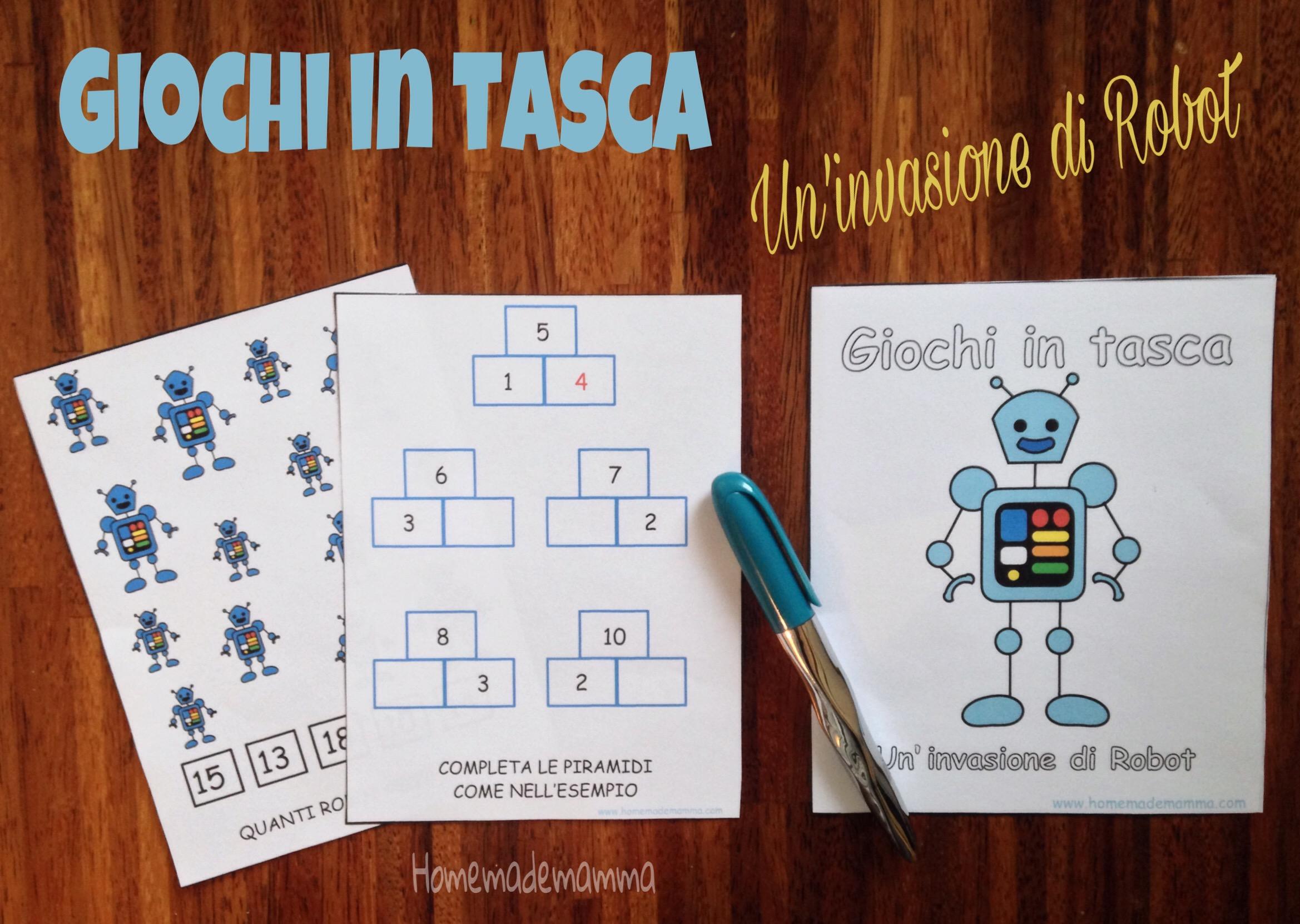 libro gioco matematica e italiano stampare gratis