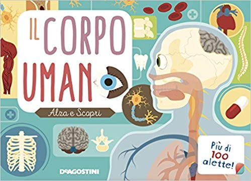 esplora il corpo umano pop up