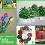 6 idee prese in rete per… creare con le pigne