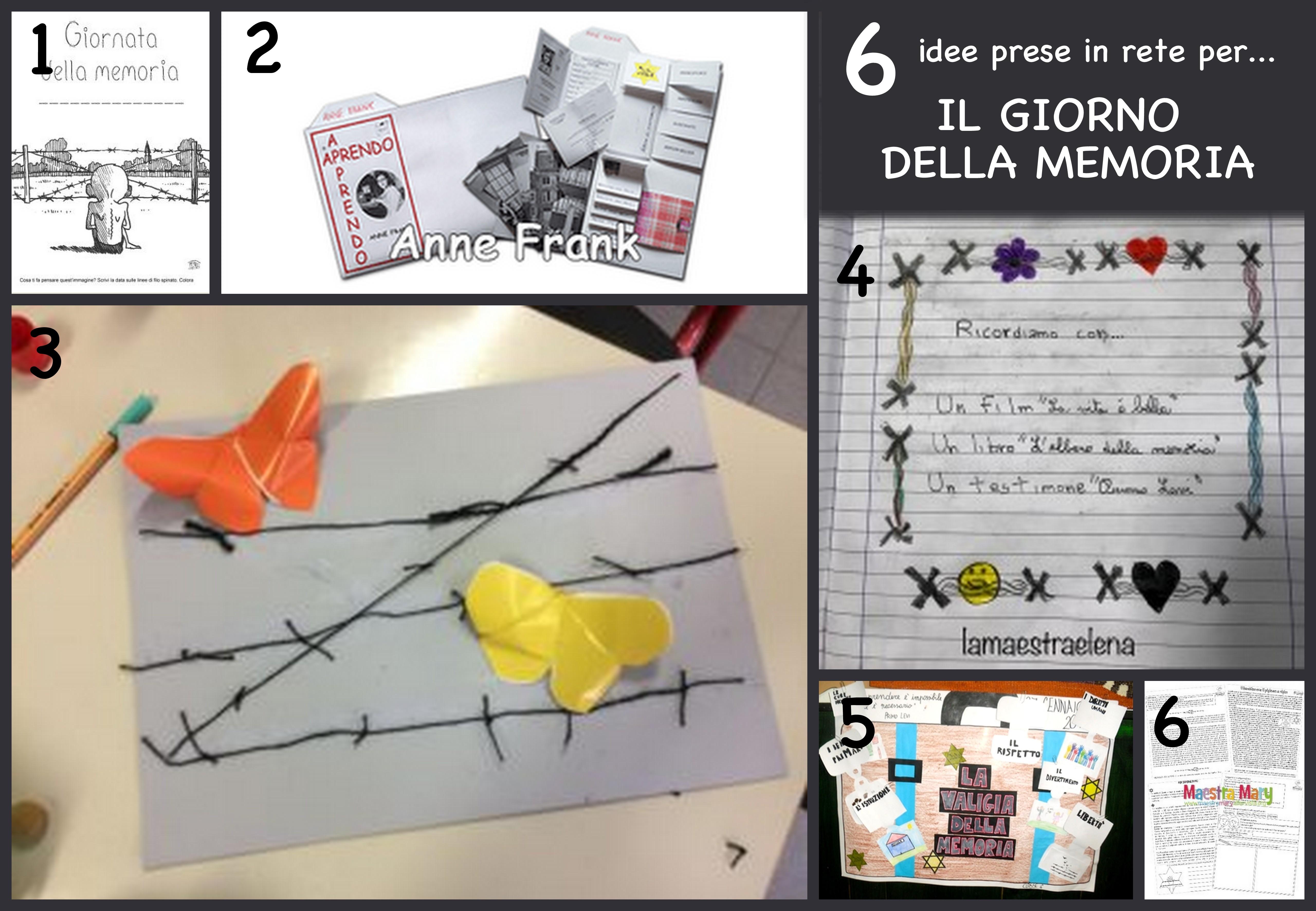 Famoso 6 idee prese in rete per… il giorno della memoria OP33