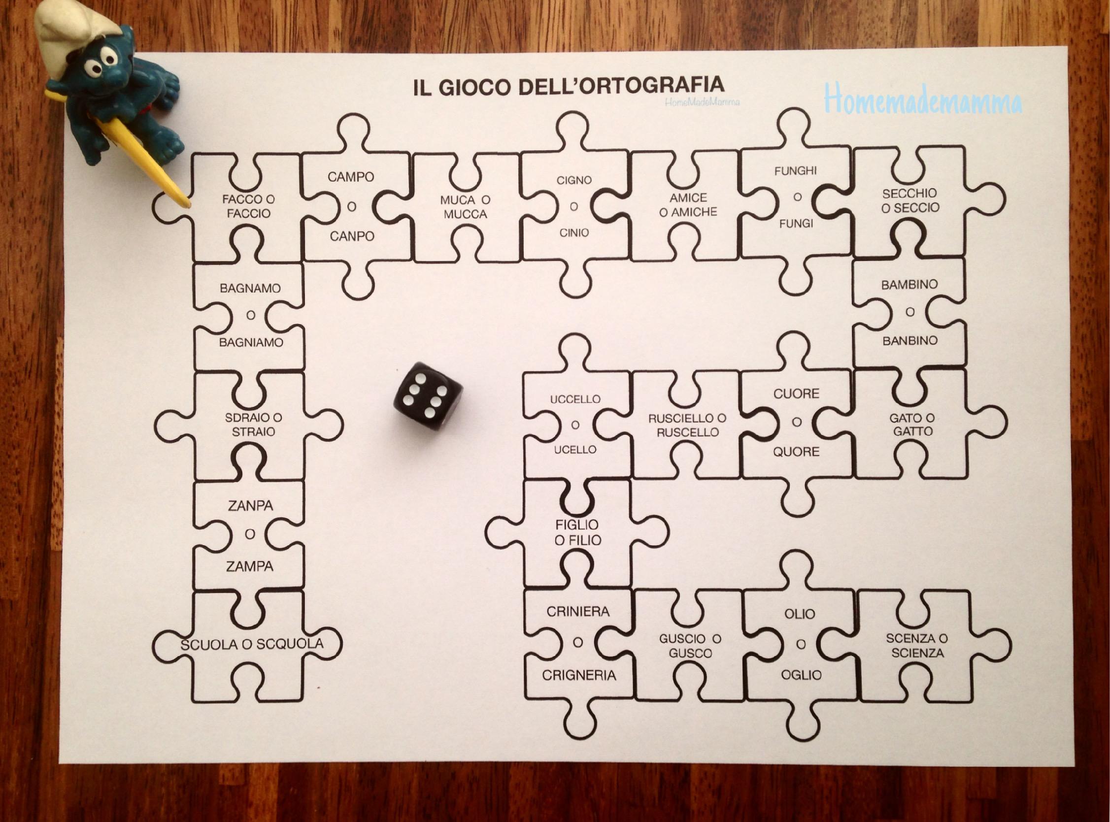 giochi ortografia scuola primaria