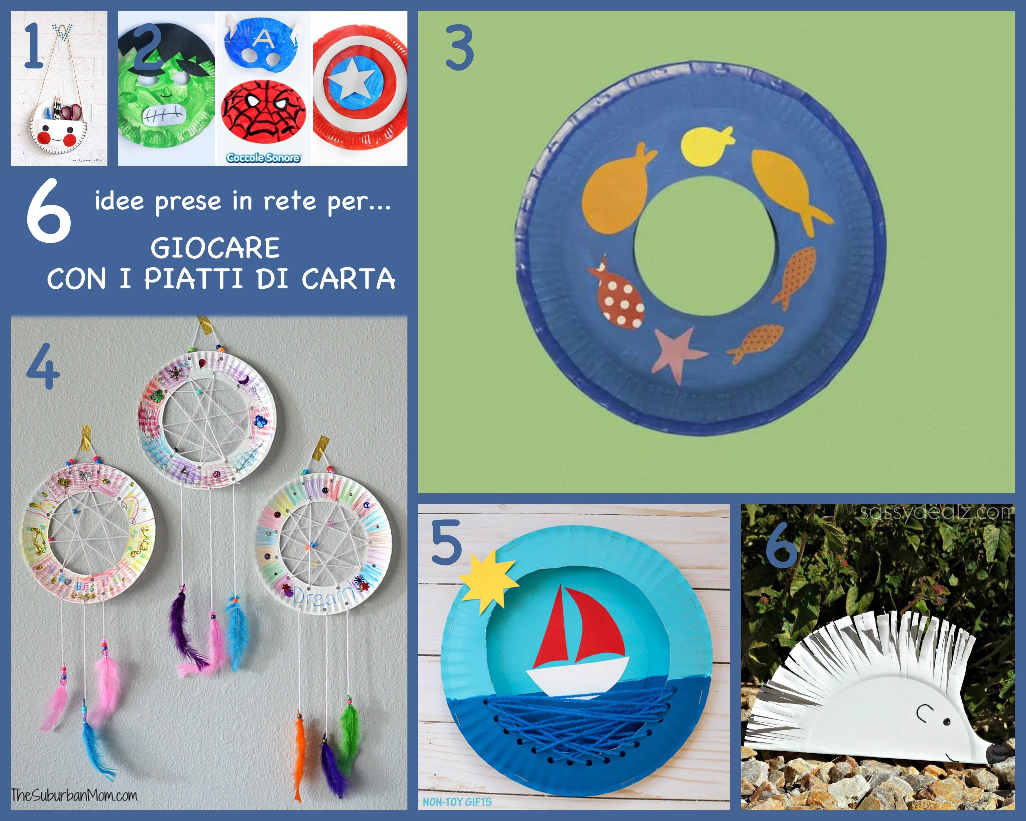 Cose Creative Con La Carta attività per bambini |