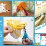6 idee prese in rete per… imparare ad usare le forbici