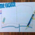 Le mie vacanze: una libretto per ricordarle