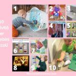 10 idee per attività da fare con i bambini piccoli