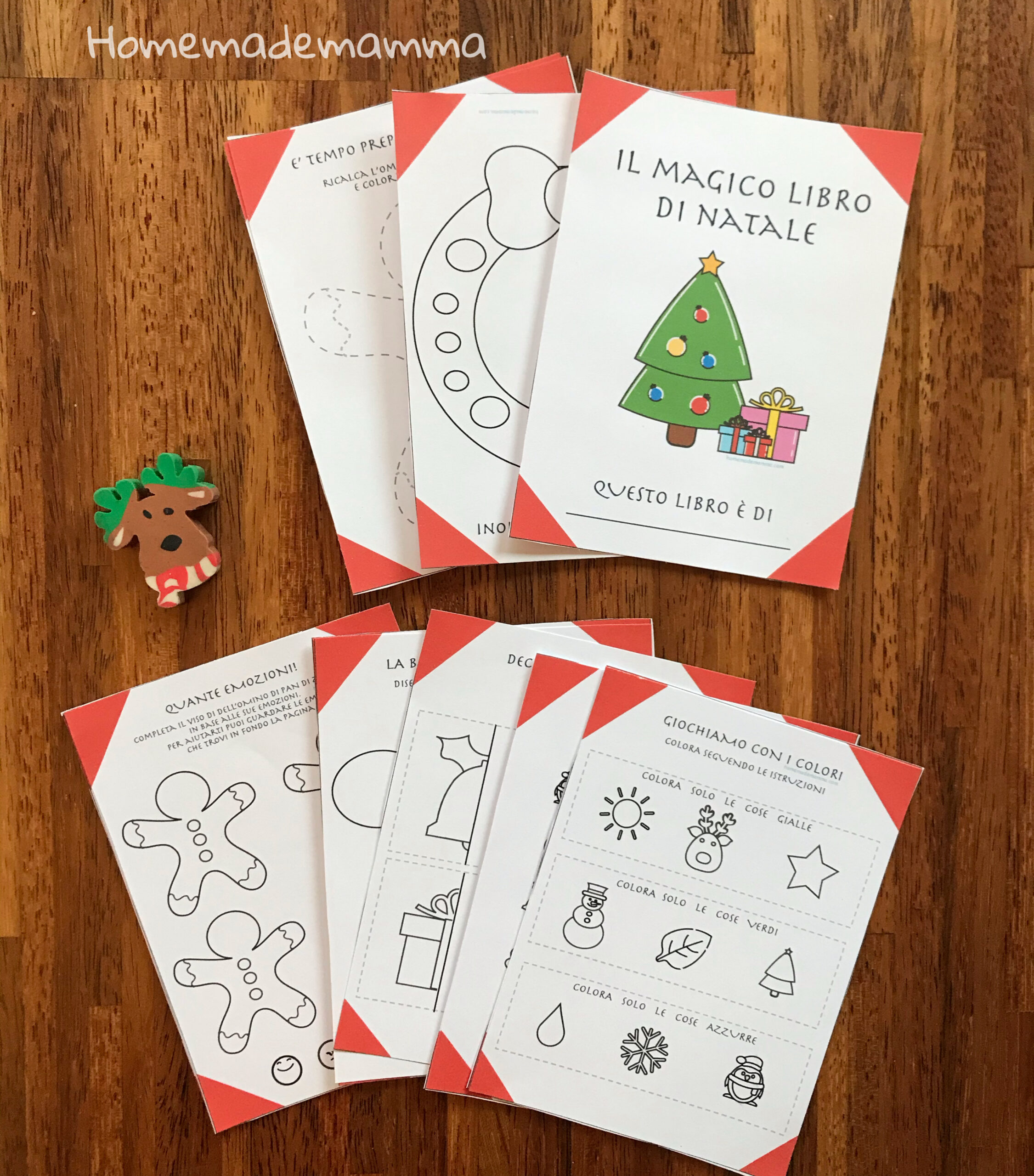 Lavoretti Di Natale Materna.Il Magico Libro Di Natale Per I Bambini Della Scuola Dell Infanzia