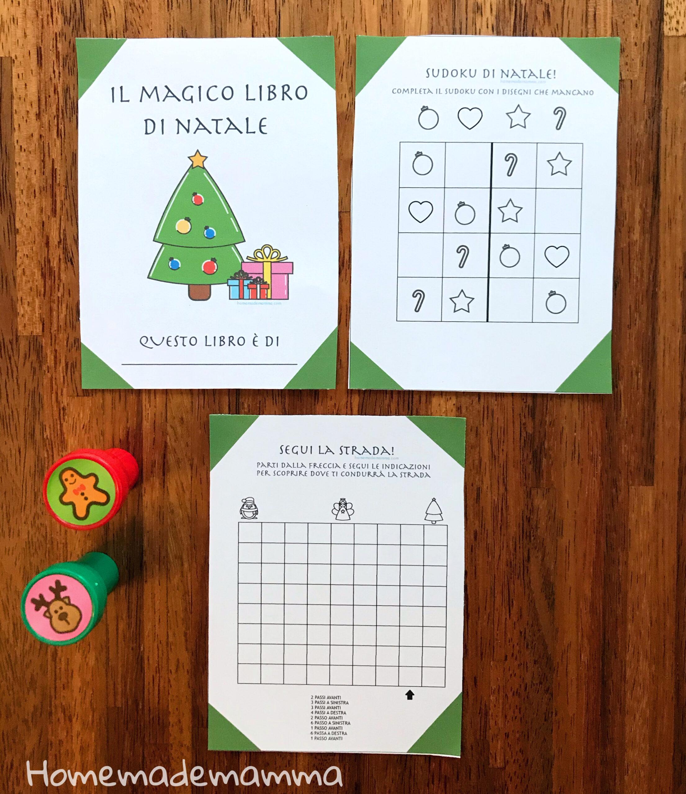Lavoretti Di Natale Classe Seconda.Il Magico Libro Di Natale Per I Bambini Della Scuola Primaria