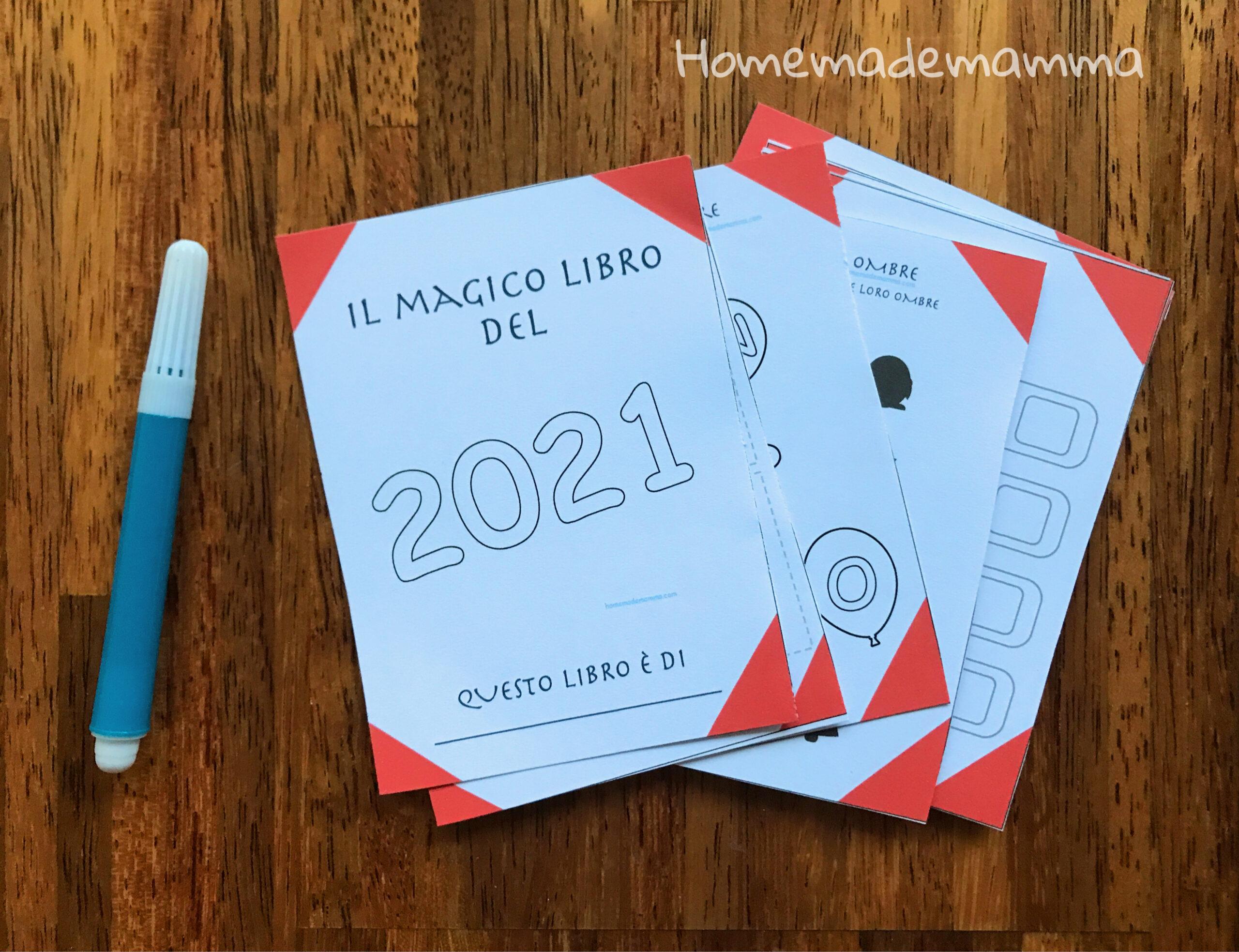 attività e giochi bambini ultimo dell'anno da stampare
