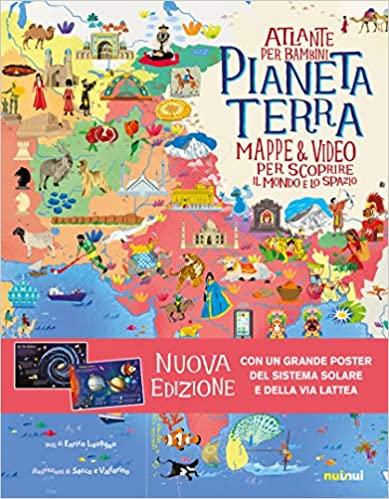 Atlante per bambini pianeta terra mappe video