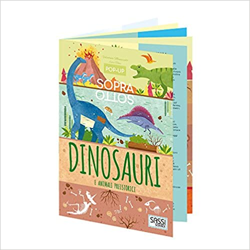 Dinosauri libro pop-up