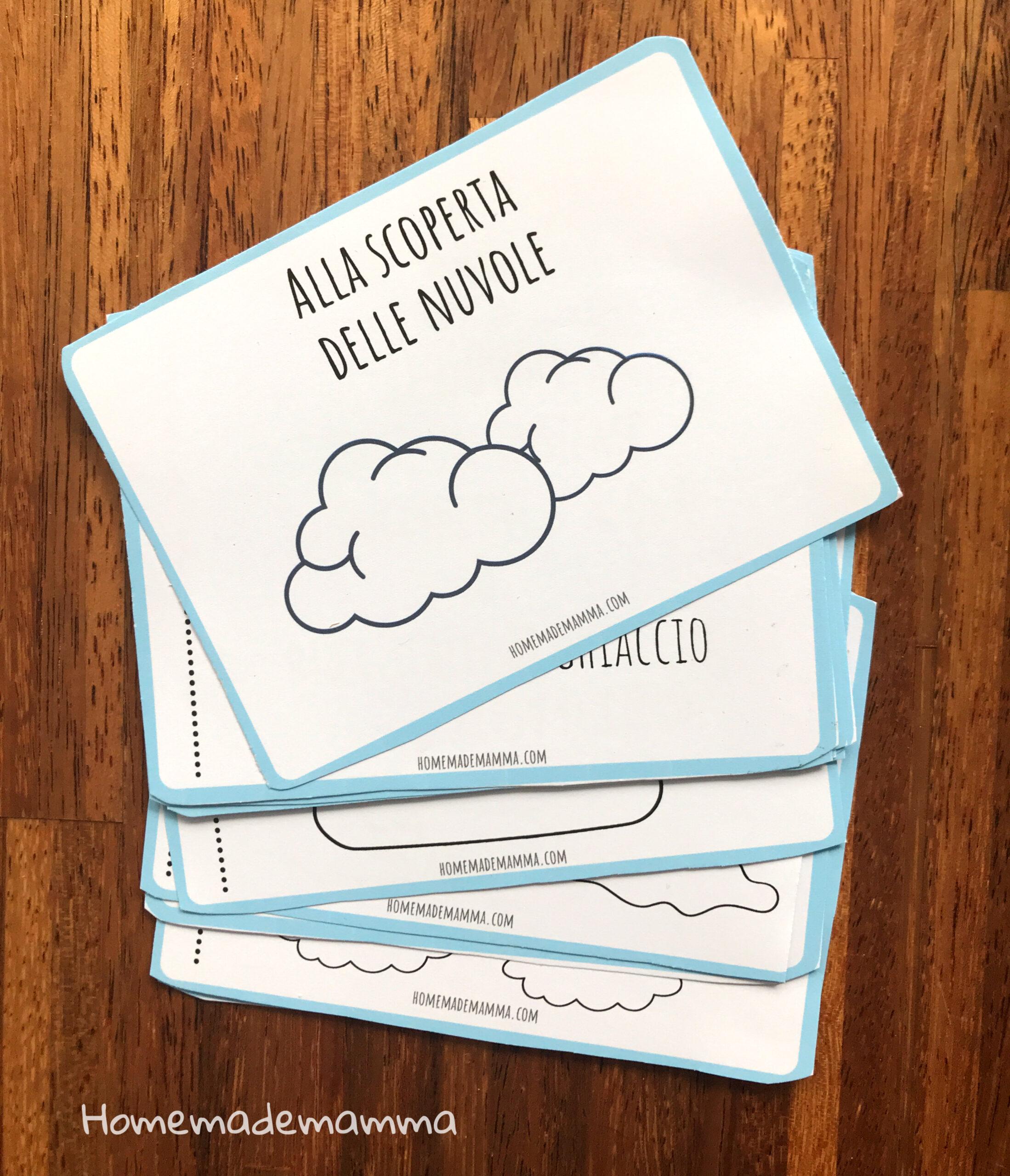 Libretto per scoprire le nuvole