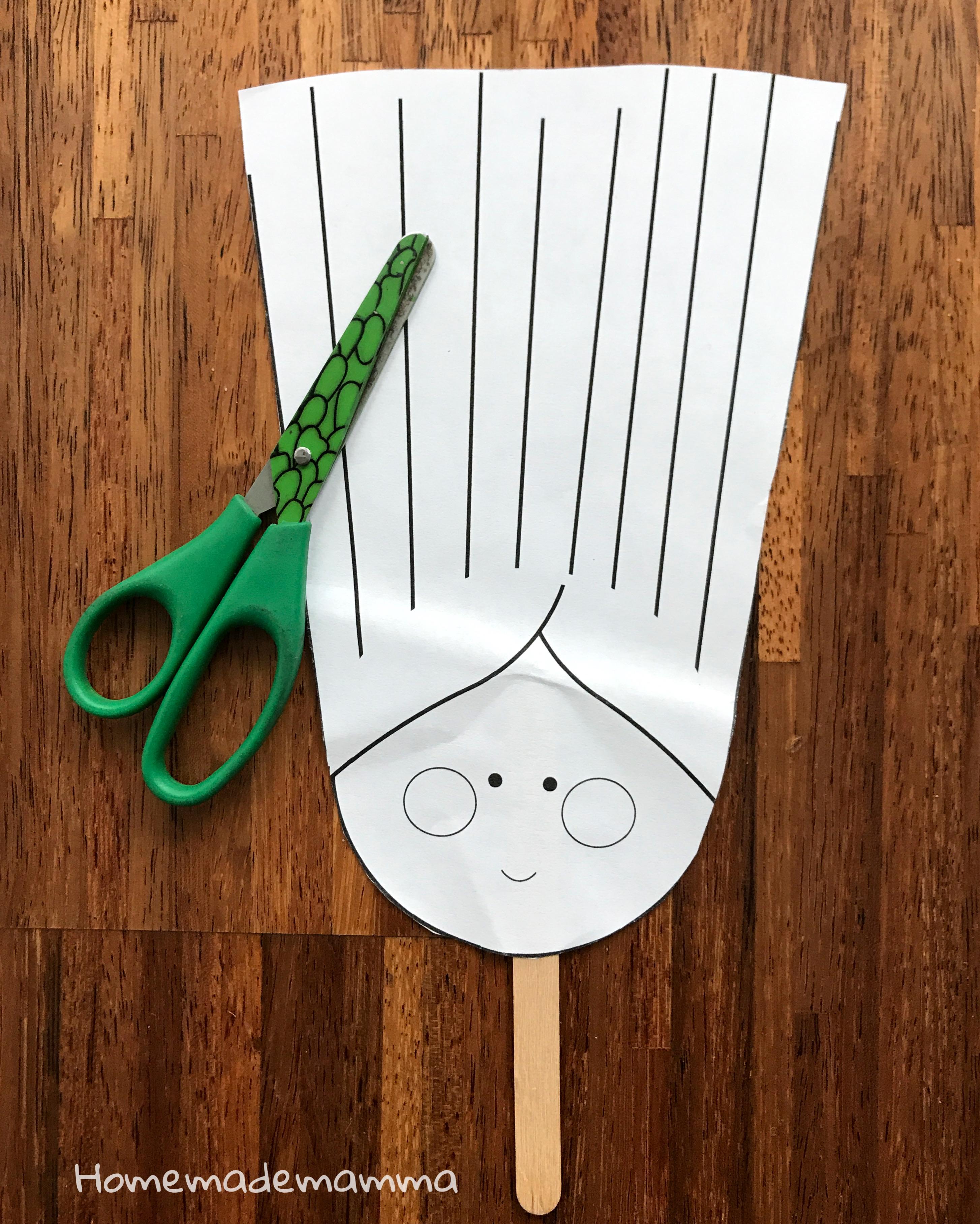 Gioco Parrucchiere da stampare per usare le forbici