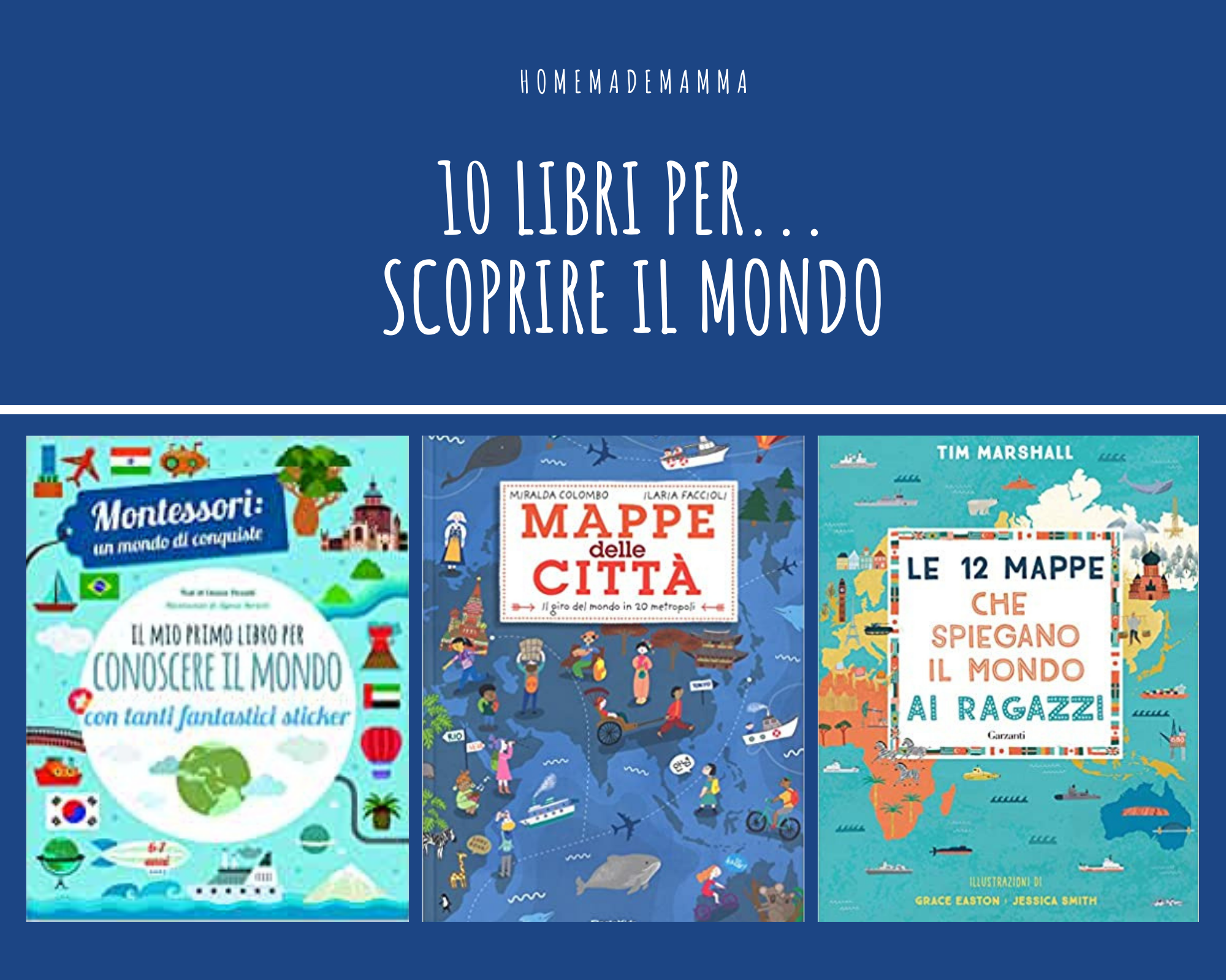 10 libri per ragazzi atlanti e mappe per sco