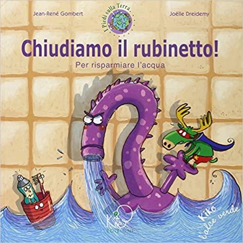 Libri ambiente risparmio acqua bambini