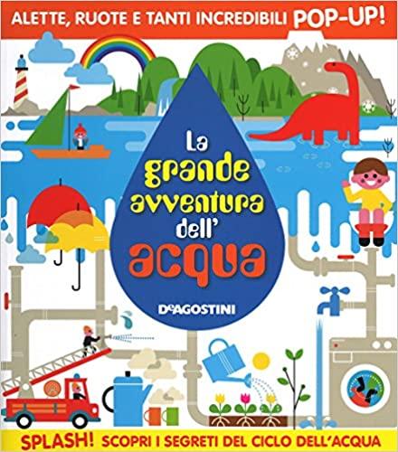 Scoprire il ciclo dell'acqua libri bambini