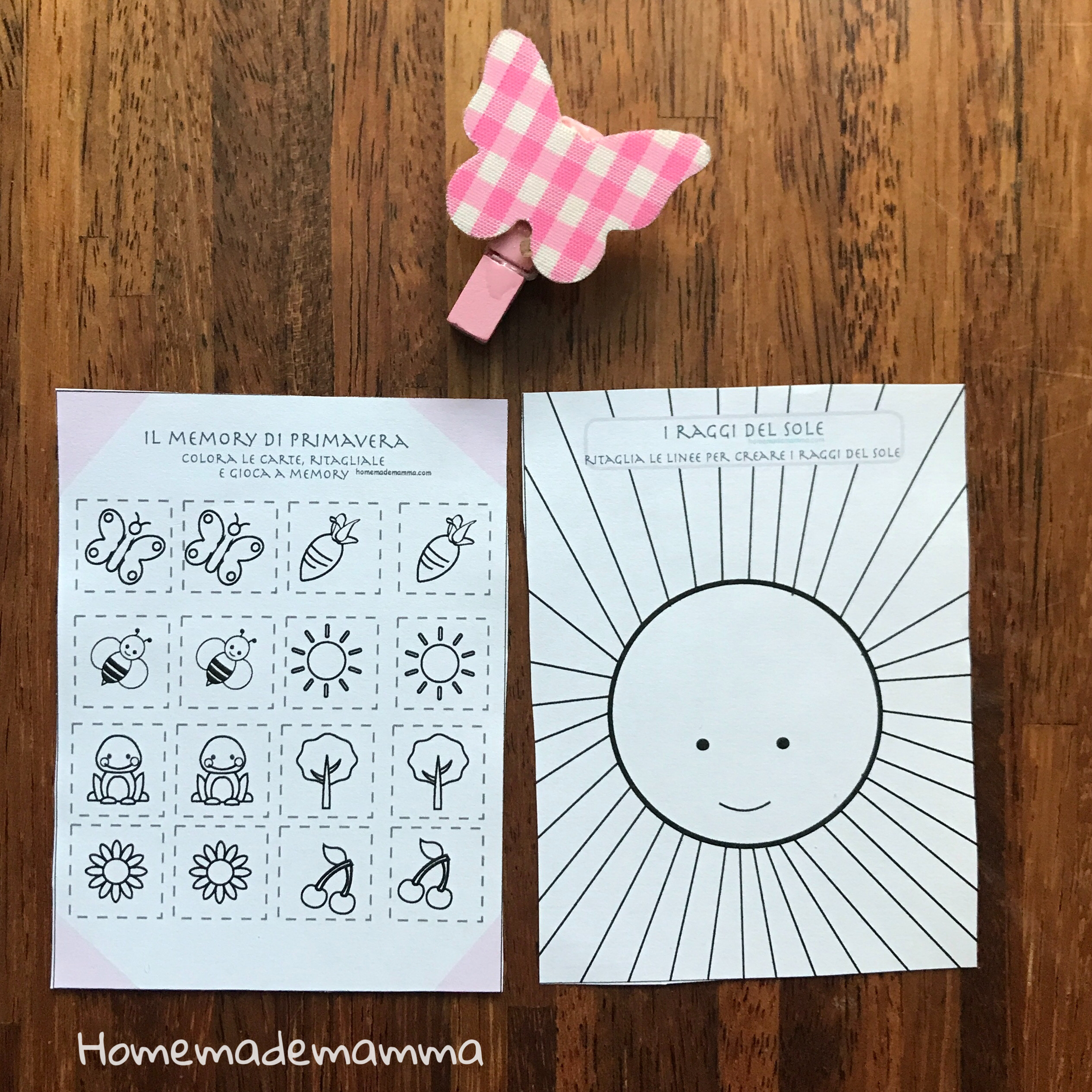 scuola infanzia schede e attività pregrafismo, logica, disegno, colori bambini primavera da stampare