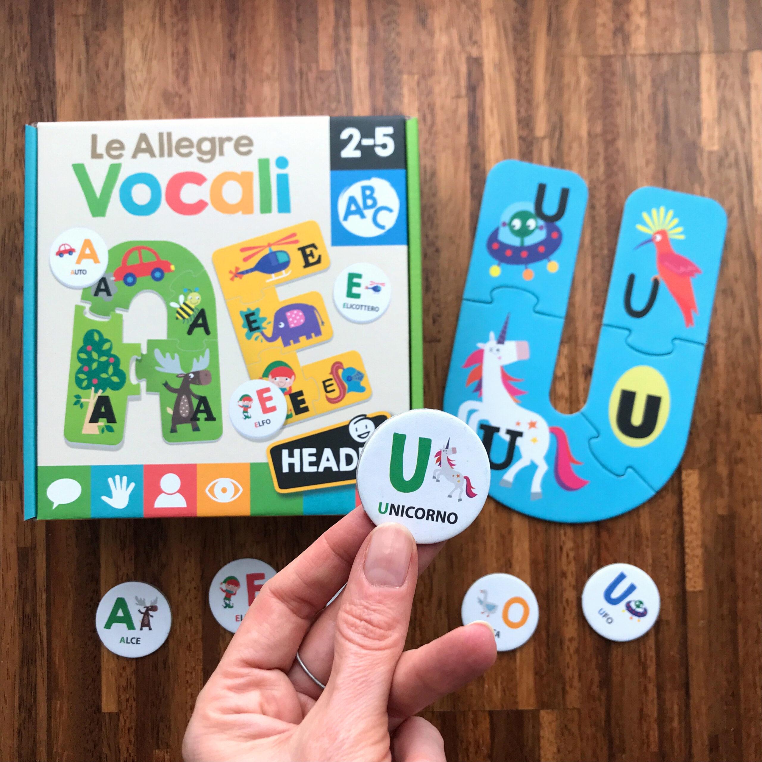 Headu allegre vocali gioco bambini utilità istruzioni