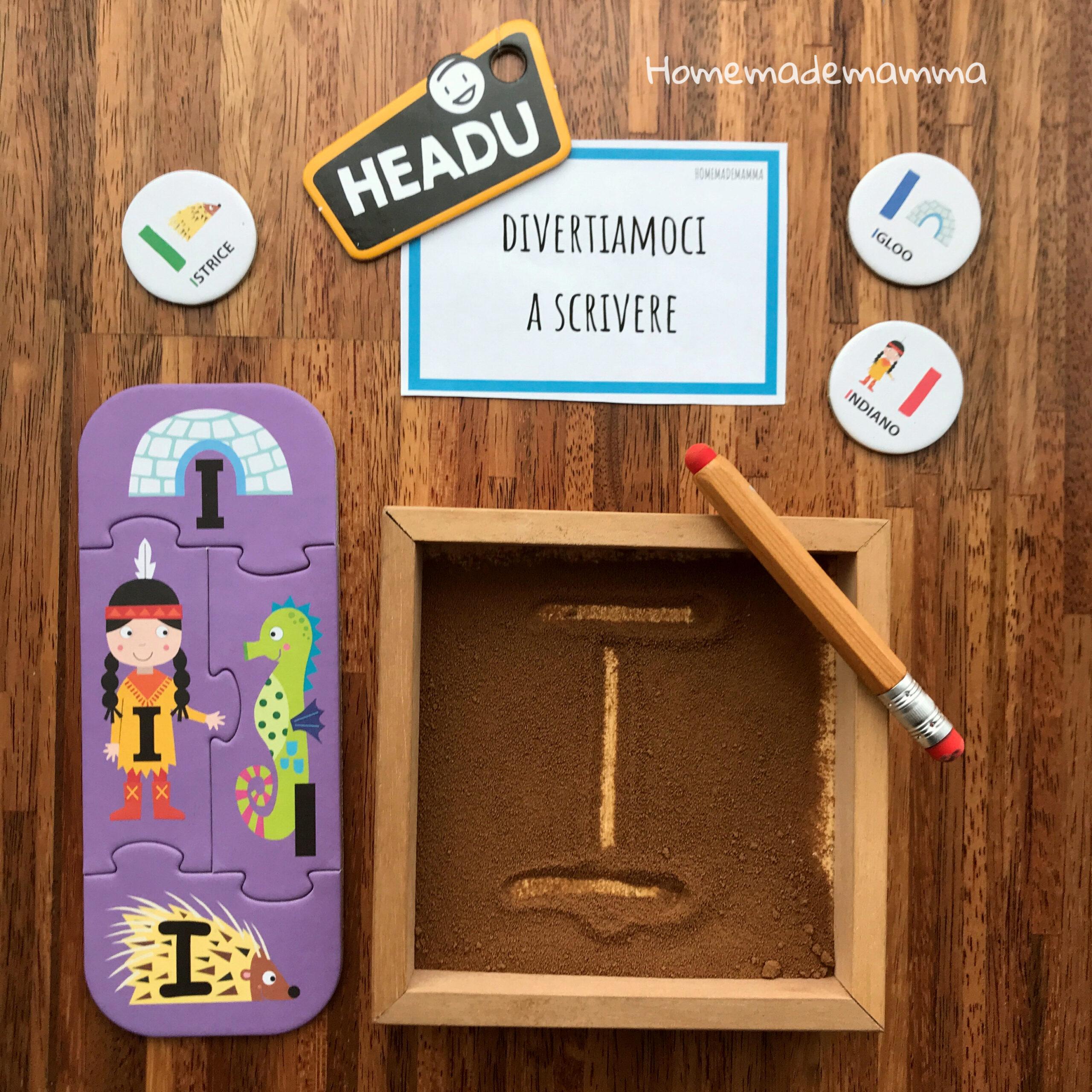 Headu allegre vocali gioco bambini come si gioca idee