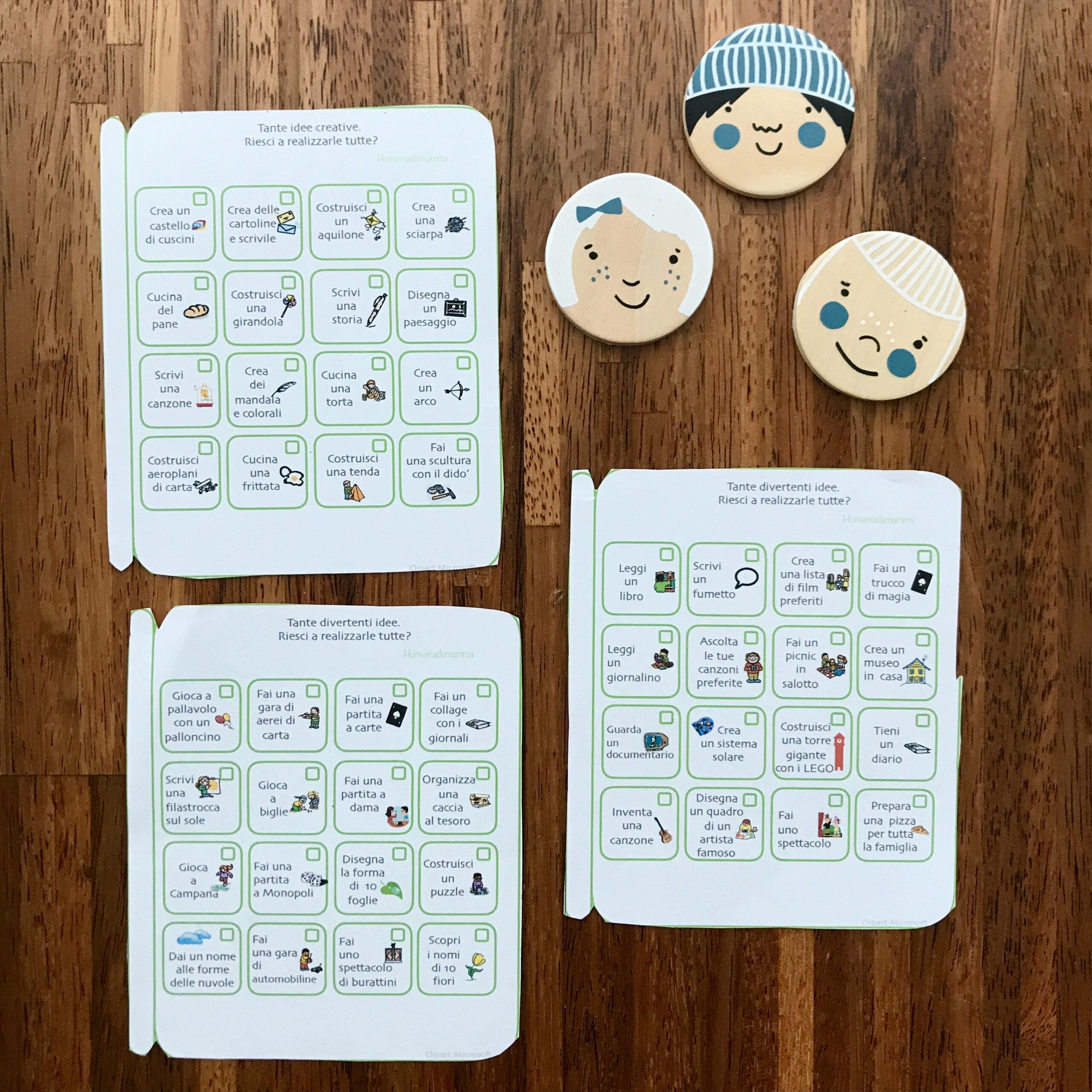100 idee ed attività da fare a casa con bambini lockdown