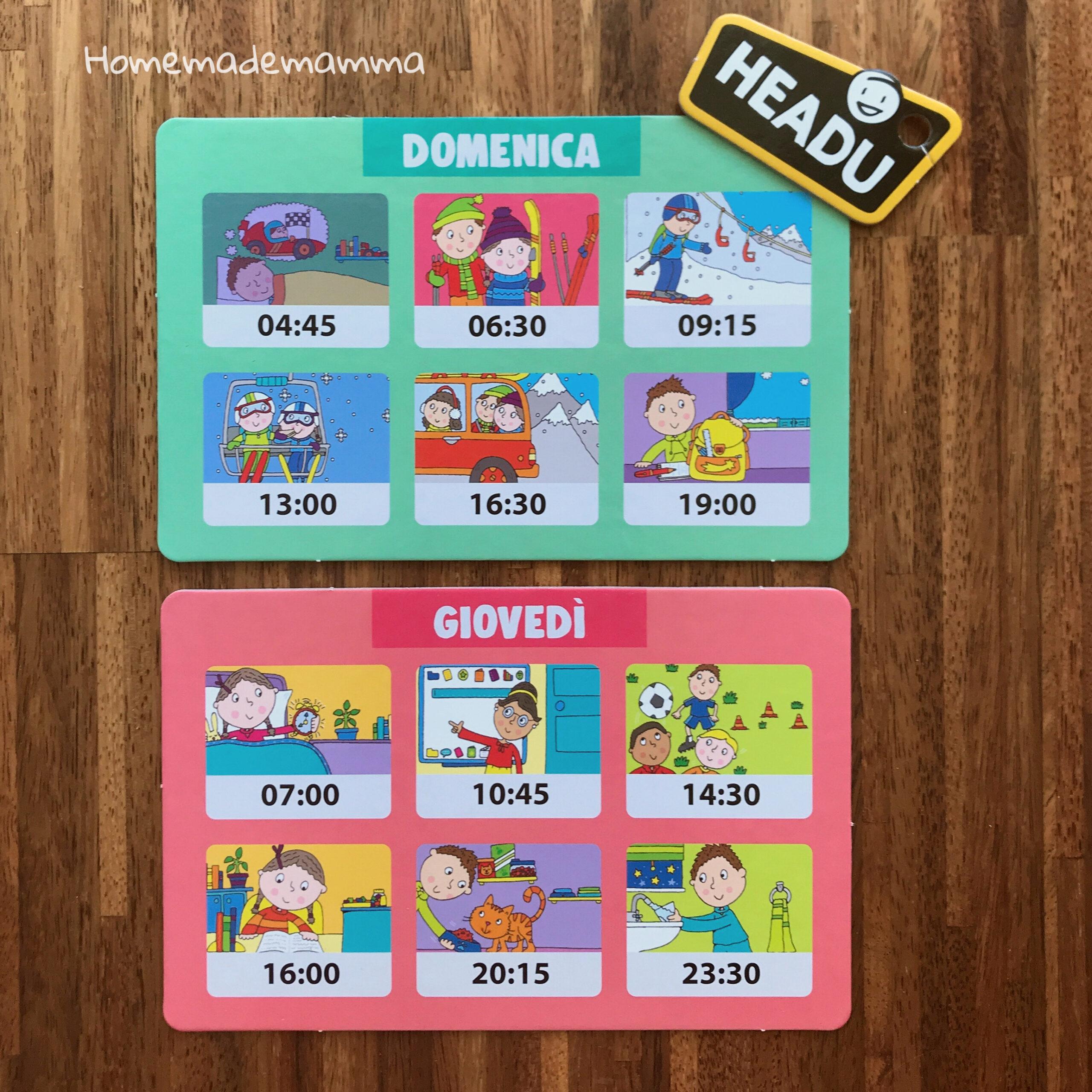 Gioco per imparare a leggere l'ora E l'orologio Bambini